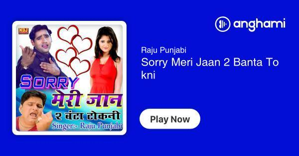 Raju Punjabi - Sorry Meri Jaan 2 Banta Tokni (8 songs) | Play for free on Anghami