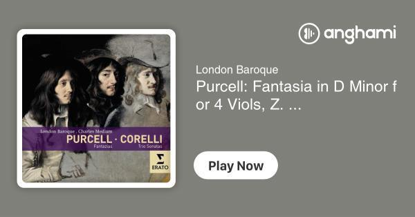 e6a062009 London Baroque - Purcell  Fantasia in D Minor for 4 Viols