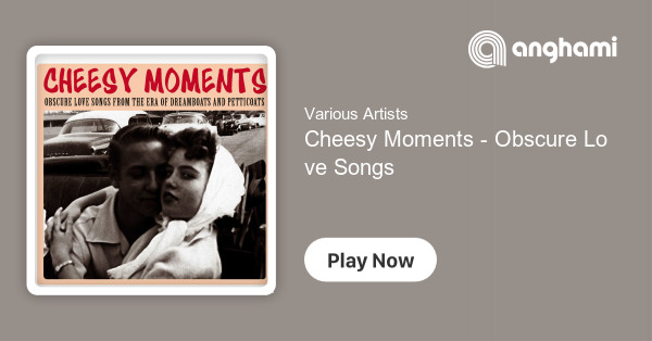 Various Artists Cheesy Moments Obscure Love Songs From